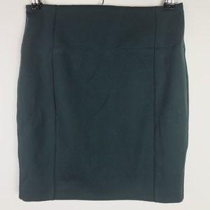 Lululemon Skirt Dark Fuel Green Cityfarer Pencil